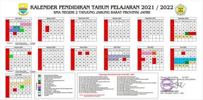Kalender pendidikan T.P. 2021/2022